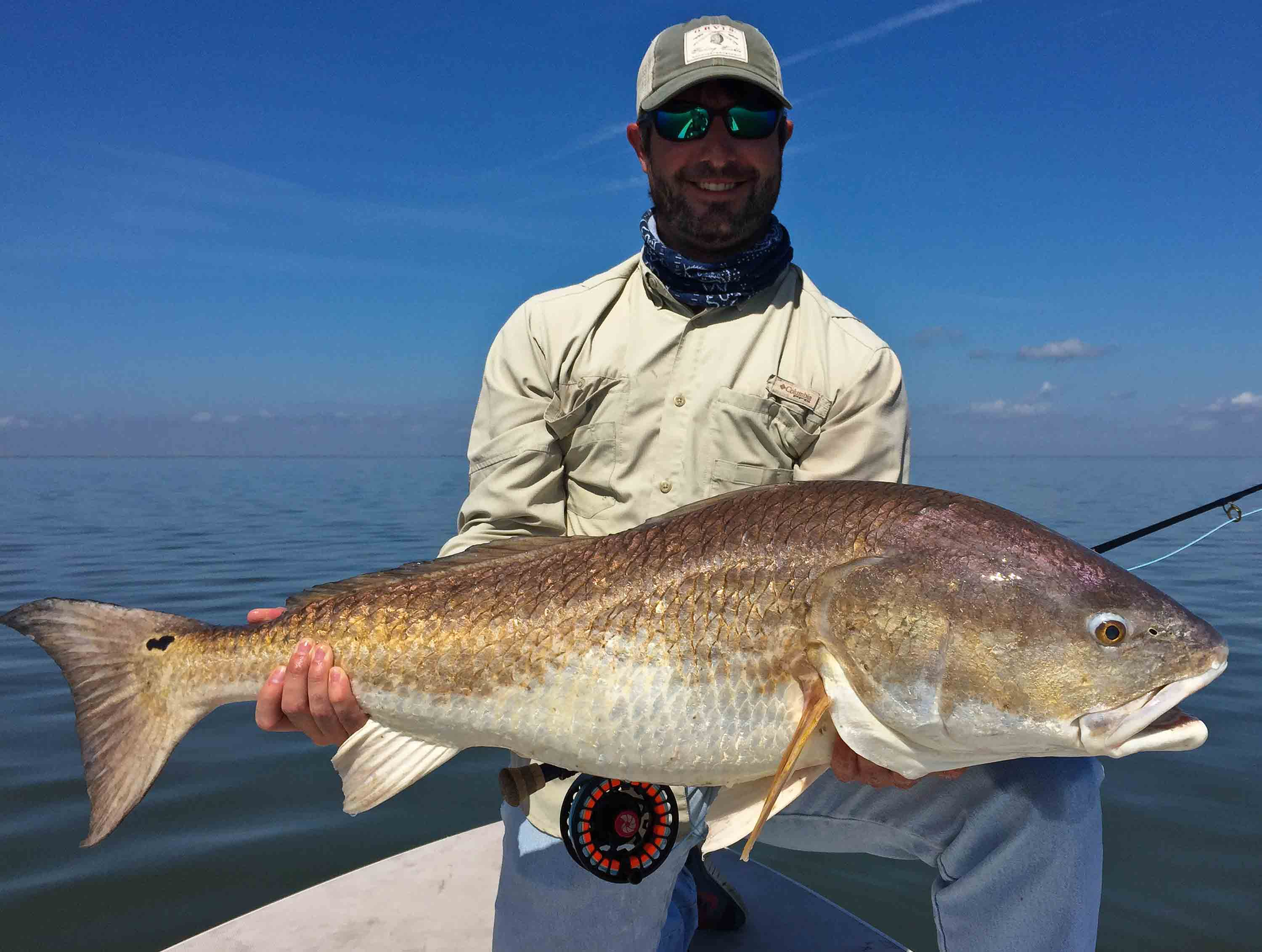Fly fishing for bull redfish in louisianalaguna madre for How to fish for redfish