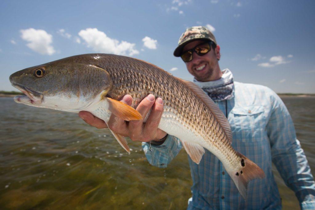 texas coast fly fishing for redfish